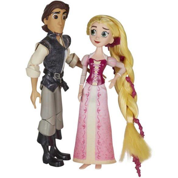 Diney Tangled Papusa Rapunzel si Eugene scena cererii in casatorie 4