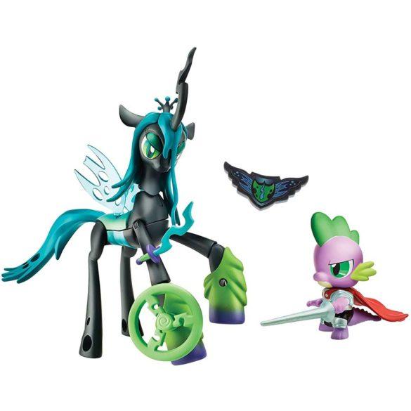 My Little Pony Gardienii Armoniei Regina Chrysalis vs. Dragonul Spike