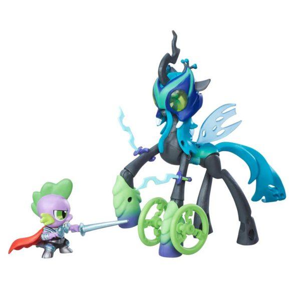 My Little Pony Gardienii Armoniei Regina Chrysalis vs. Dragonul Spike 2