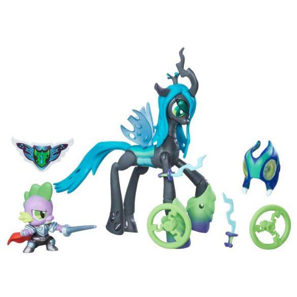 My Little Pony Gardienii Armoniei Regina Chrysalis vs. Dragonul Spike 3