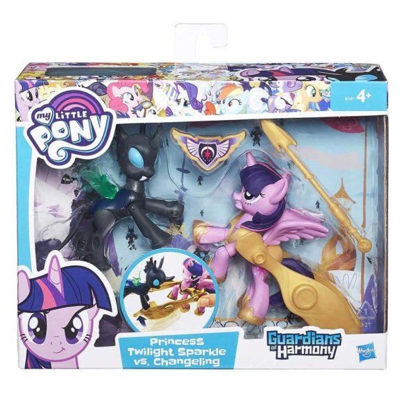 My Little Pony Gardienii Armoniei Twilight Sparkle vs. Changeling 4