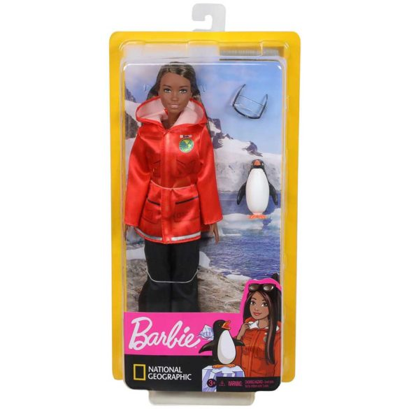 Papusa Barbie Biolog Marin Colectia National Geographic 6