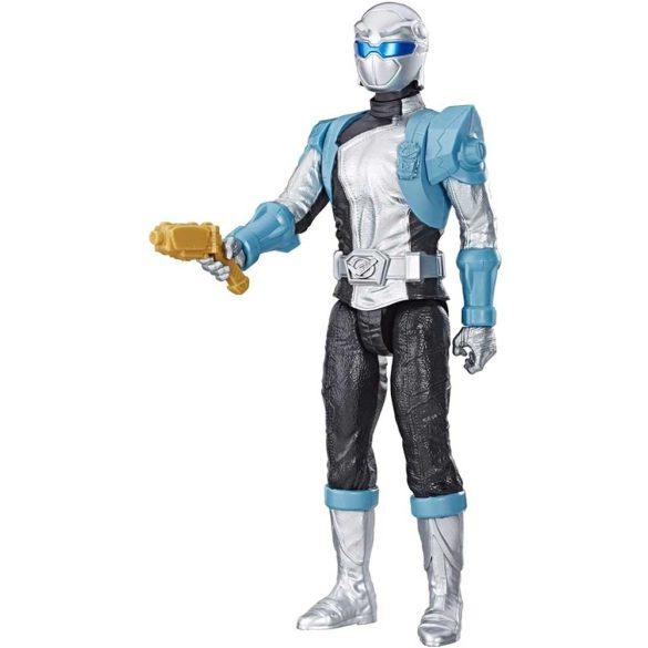 Power Rangers Figurina Ranger Argintiu, 30 cm