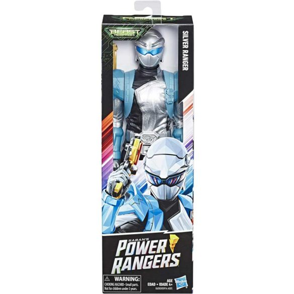 Power Rangers Figurina Ranger Argintiu 30 cm 2