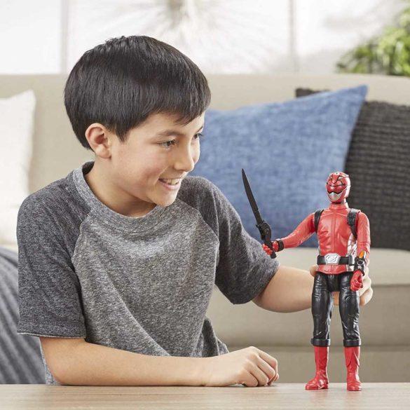 Power Rangers Figurina Ranger Rosu 30 cm 5