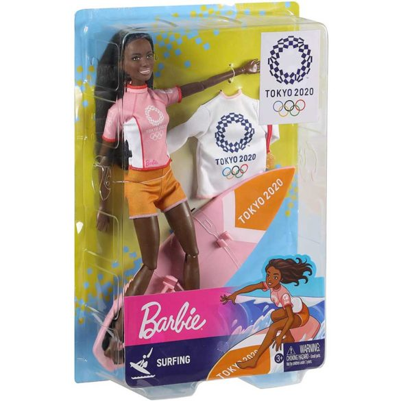 Tokyo 2020 Papusa Barbie Campioana la Surf 4