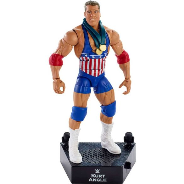 WWE Colectia Intrarea in Ring - Figurina Kurt Angle