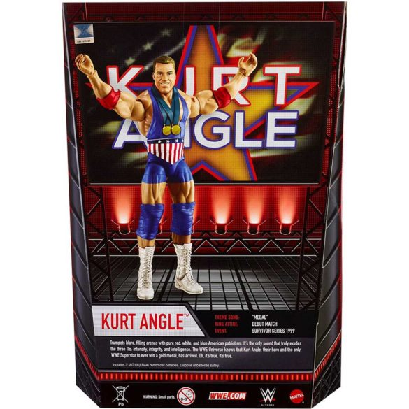 WWE Colectia Intrarea in Ring Figurina Kurt Angle 6