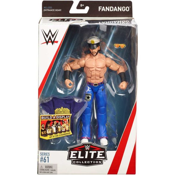 WWE Elite Collection Figurina de Actiune Fandango 5