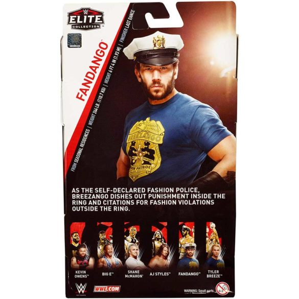 WWE Elite Collection Figurina de Actiune Fandango 6