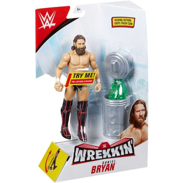WWE Figurina Daniel Bryan Colectia Wrekkin Cu Accesoriu 6