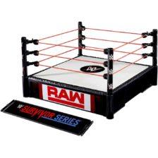 WWE Ring pentru Figurine cu 2 Tablite de Eveniment