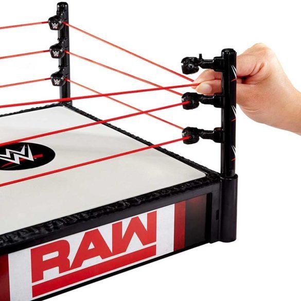 WWE Ring pentru Figurine cu 2 Tablite de Eveniment 3
