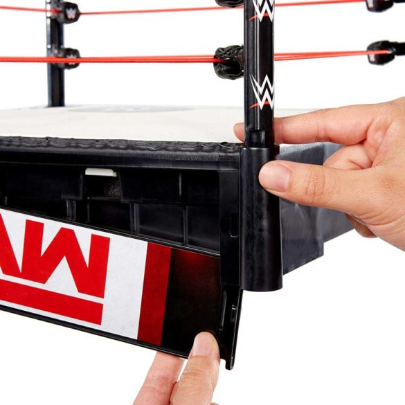 WWE Ring pentru Figurine cu 2 Tablite de Eveniment 4