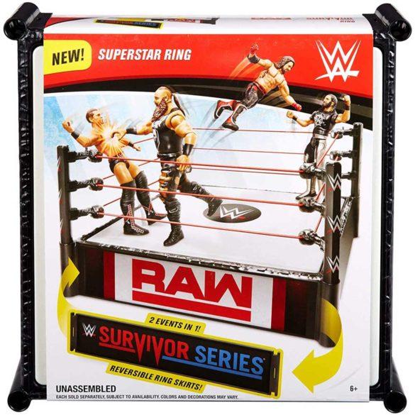 WWE Ring pentru Figurine cu 2 Tablite de Eveniment 6