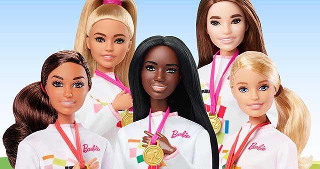 papusa barbie Tokyo 2020