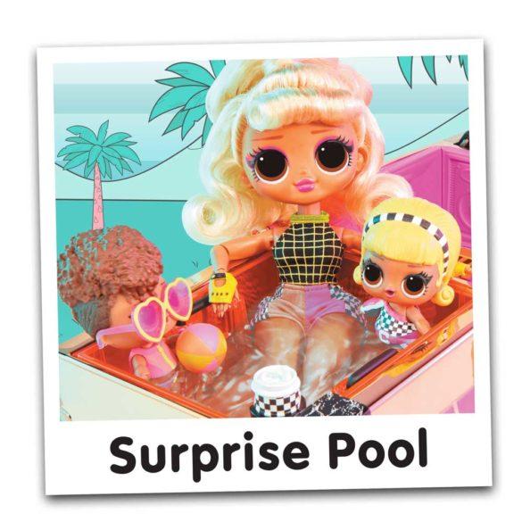 L.O.L. Surprise Set Papusa si Masina Decapotabila 4