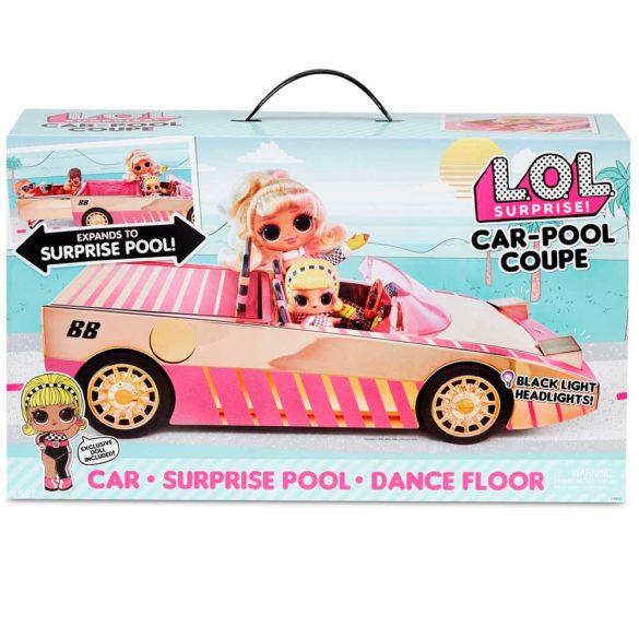 L.O.L. Surprise Set Papusa si Masina Decapotabila 5
