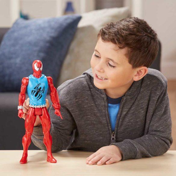 Marvel Colectia Eroul Titan Figurina Scarlet Spider 30cm 3