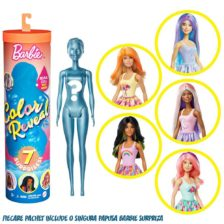 Papusa Barbie Color Reveal, Seria 3