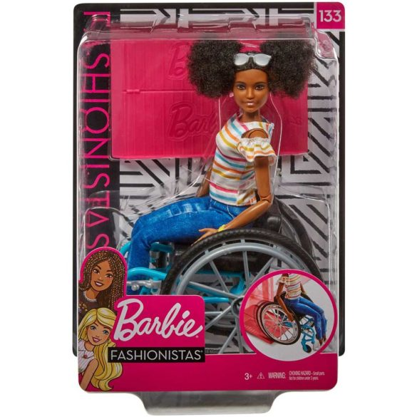 Papusa Barbie in Scaun cu Rotile 133 Model AA 7