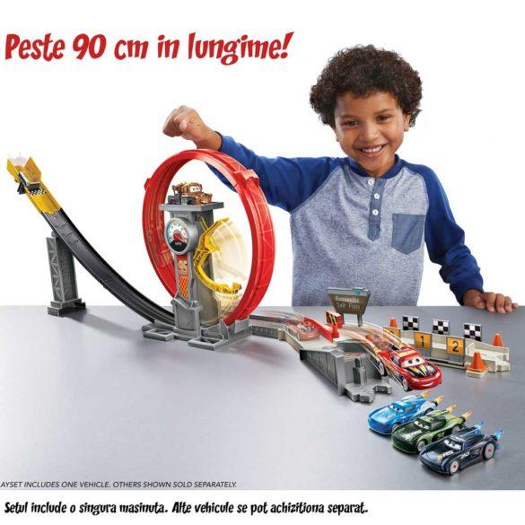 Pista Mattel Cars XRS Rocket Racer 2