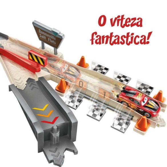 Pista Mattel Cars XRS Rocket Racer 4