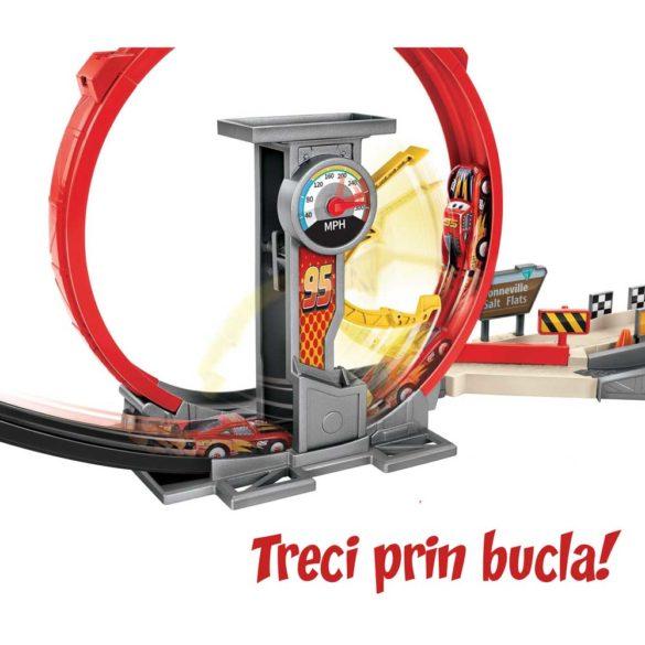 Pista Mattel Cars XRS Rocket Racer 5