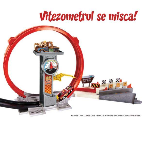 Pista Mattel Cars XRS Rocket Racer 6