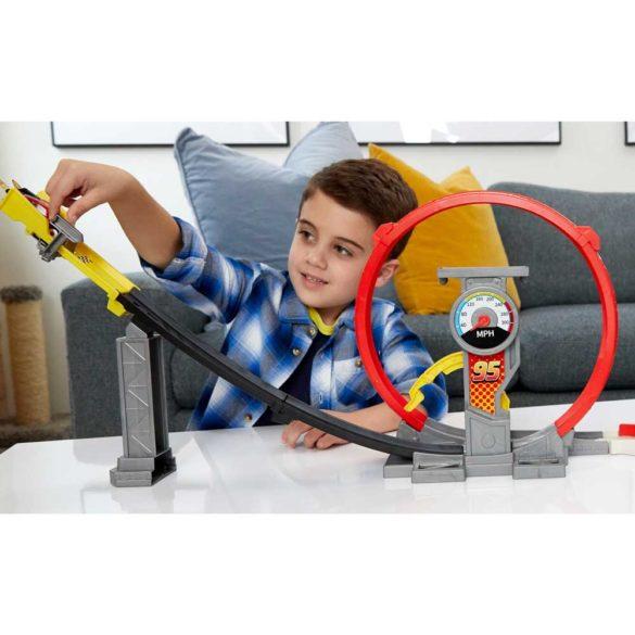 Pista Mattel Cars XRS Rocket Racer 8