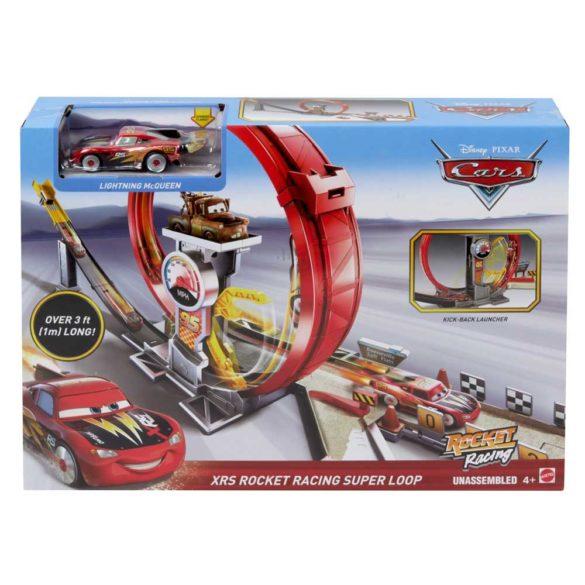 Pista Mattel Cars XRS Rocket Racer 9
