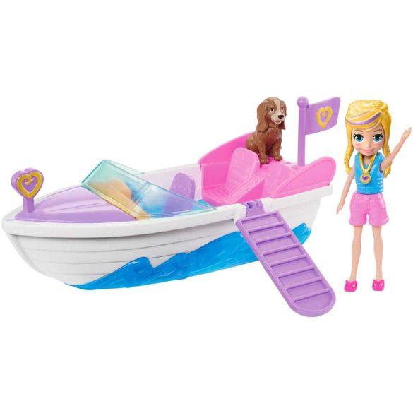 Polly Pocket Set Aventuri in Barca alaturi de Polly