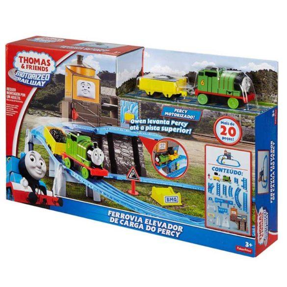 Thomas Friends Pista Motorizata Percys Load Lift 6
