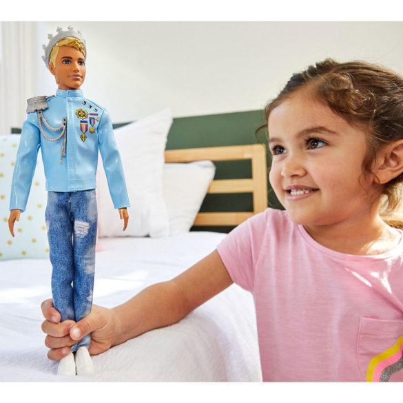 Barbie Aventurile Printeselor Papusa Ken Print 2