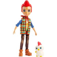 Enchantimals Papusa Redward Rooster & Figurina Cluck