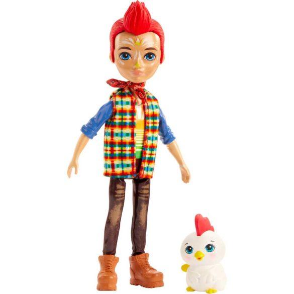 Enchantimals Papusa Redward Rooster & Figurina Cluck