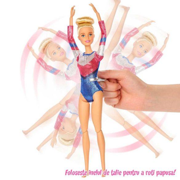 Papusa Barbie si Setul de Gimnastica cu 15 Accesorii 4