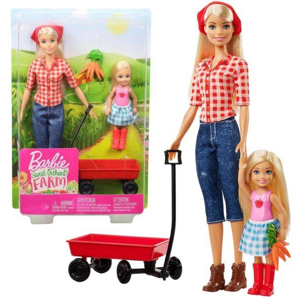 Barbie si Ferma de Vis Papusa Chelsea si Accesorii