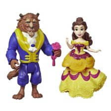 Disney Royal Clips Figurinele Belle si Bestia