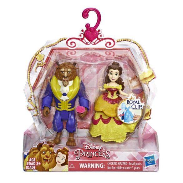 Disney Royal Clips Figurinele Belle si Bestia 2