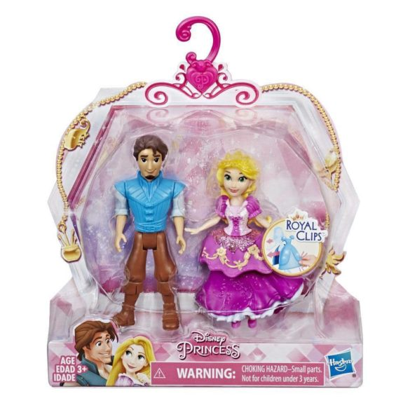 Disney Royal Clips Figurinele Rapunzel si Eugene 2