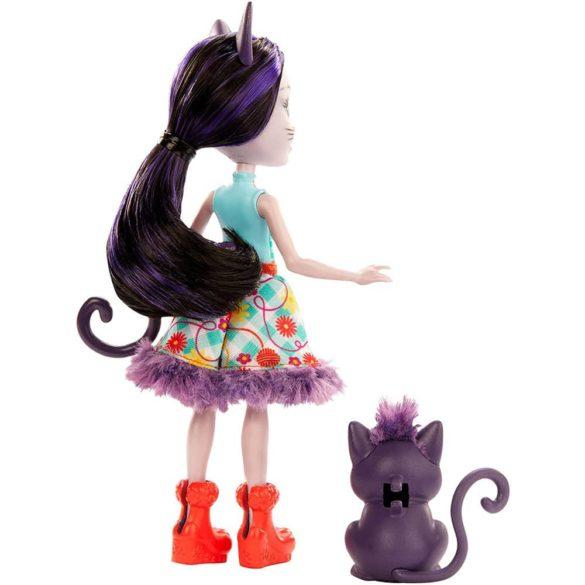 Enchantimals Papusa Ciesta Cat Figurina Climber 5