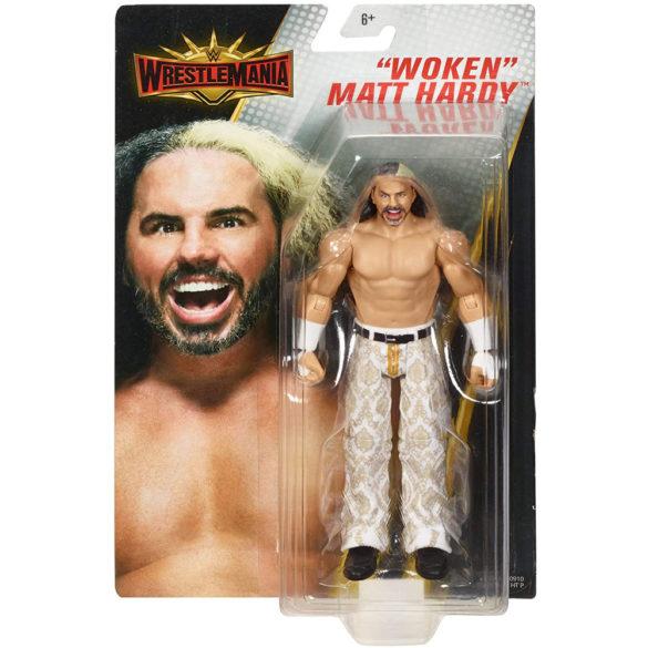 Figurina WWE WrestleMania Woken Matt Hardy 3