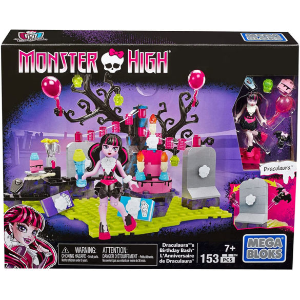 Monster High Mega Bloks Draculaura si Petrecerea Surpriza 4