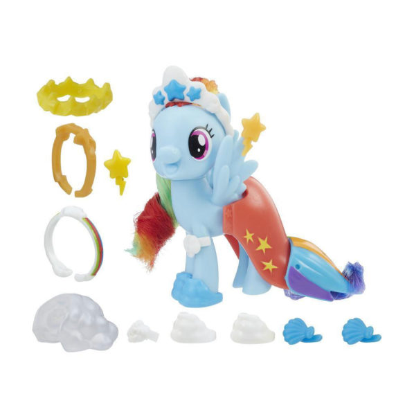 My Little Pony Figurina Rainbow Dash cu Accesorii Sirena