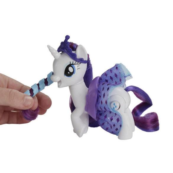 My Little Pony Figurina Rarity si Fustita ce se Roteste 5