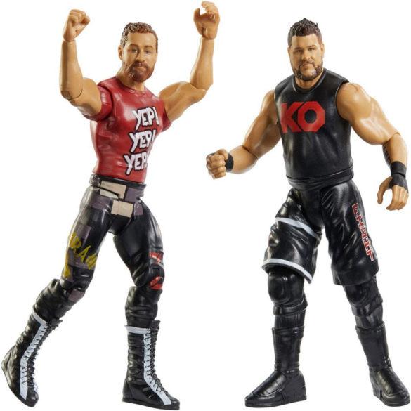 Pachet Figurine WWE Kevin Owens Sami Zayn 2
