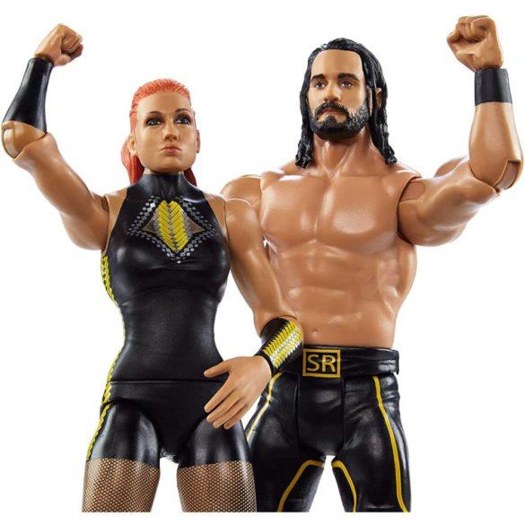 Pachet Figurine WWE Seth Rollins Becky Lynch 2
