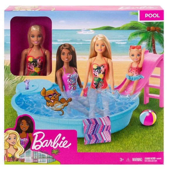 Papusa Barbie si Piscina 6