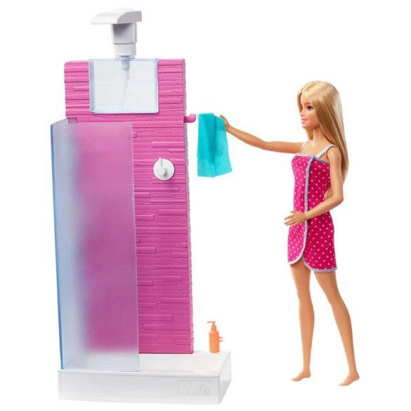Papusa Barbie si Setul de Dus 6